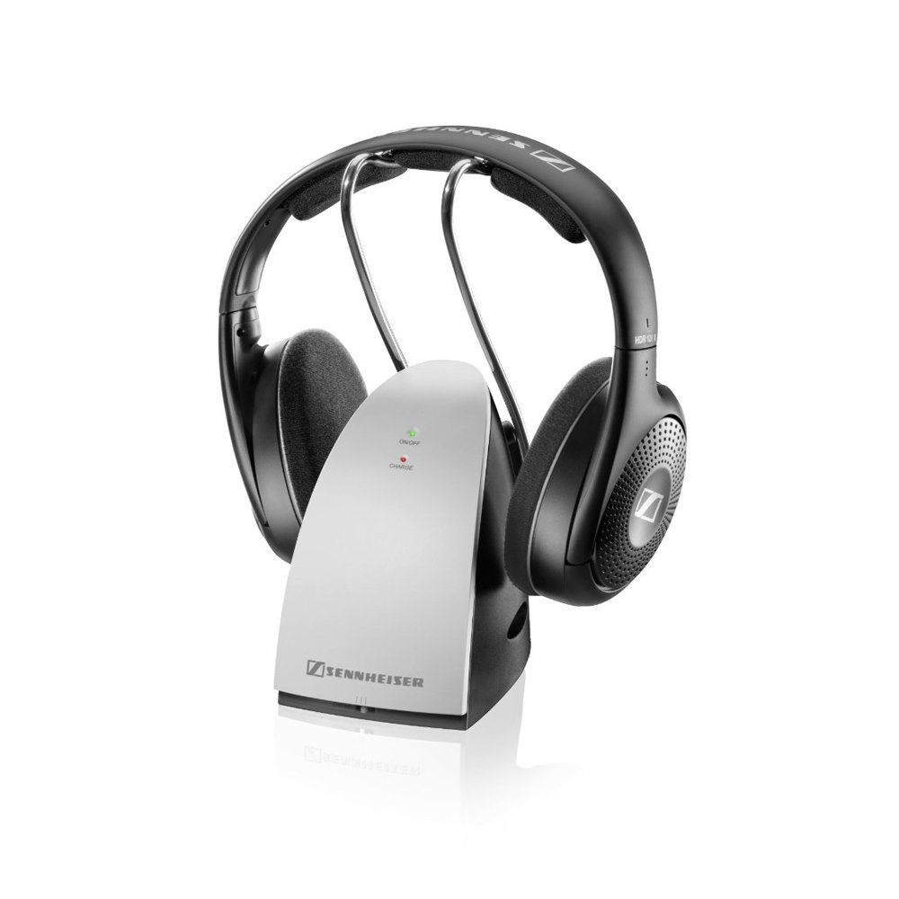 632cda164fd Sennheiser RS120 II RF Wireless On-Ear Headphone with: Amazon.co.uk:  Electronics