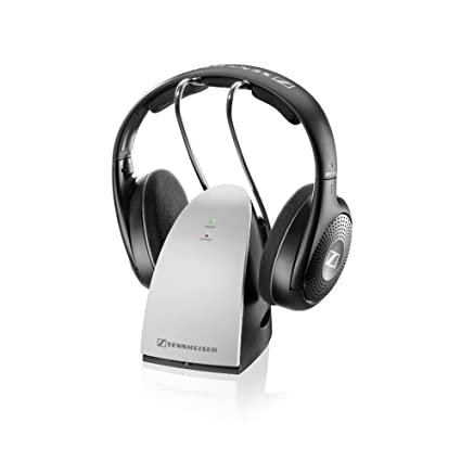 Sennheiser RS 120 II Negro, Plata Supraaural Diadema auricular - Auriculares (Supraaural, Diadema