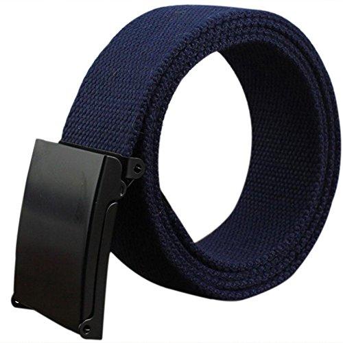 809143158192 Envio gratis doitsa cinturón de tela tela para hombre y mujer cinturón  trenzado cinturón en lienzo