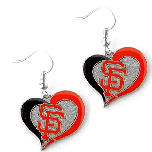 San Francisco Giants Swirl Heart -