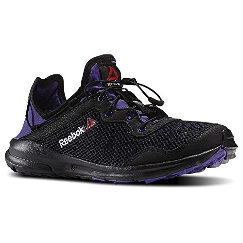 Reebok - One Rush - M44998 - Color: Negro-Violeta - Size: 40.5