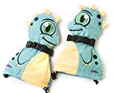 Veyo Kids - Drago Mittyz - Waterproof Kids Mittens | Toddler Gloves | Easy on, Stay on, | Perfect for snow skiing, sledding, and winter play (Small 6 Months - 2 Years)