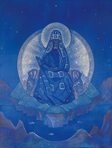 Nicholas Roerich Giclee Canvas Print Paintings Poster Reproduction(The Mother of the World)