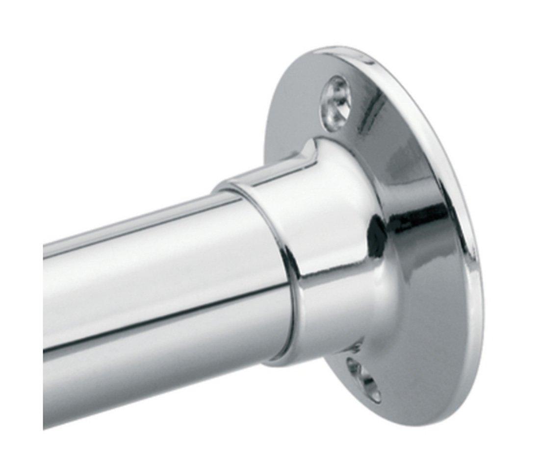 Moen 63-F Donner Shower Rod Flange Set, Chrome