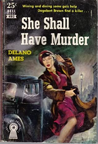 book cover of She Shall Have Murder