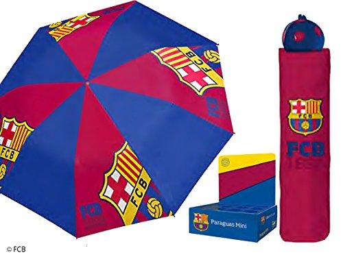 FC Barcelona Taschenschirm Regenschirm 98cm Ø