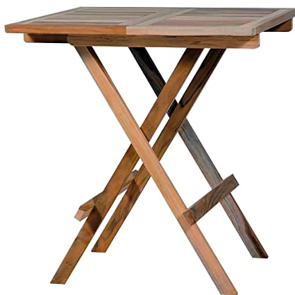 Amazoncom Sts Supplies Ltd Patio Bistro Table Patio Wood Antique