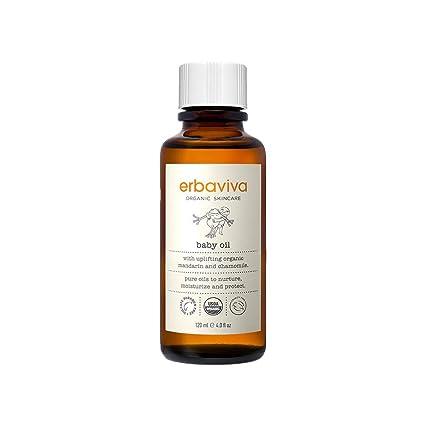 Amazon.com: erbaviva orgánicos bebé Aceite: Luxury Beauty