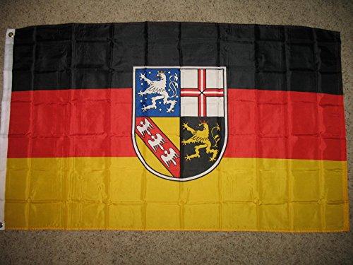 3X5 Saar State Saarland German Germany Super-Poly Flag 3'X5' Banner