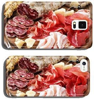 my-handy-design prosciutto, jamón, Bresaola, Pancetta, Embutidos y parmesano teléfono Celular Funda Samsung S5: Amazon.es: Electrónica