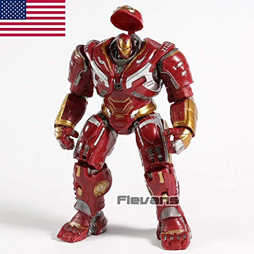 EvelynSemple M-Arvel Av-engers Super Hero Hulkbuster PVC Action Figure Collectible Model Toy -
