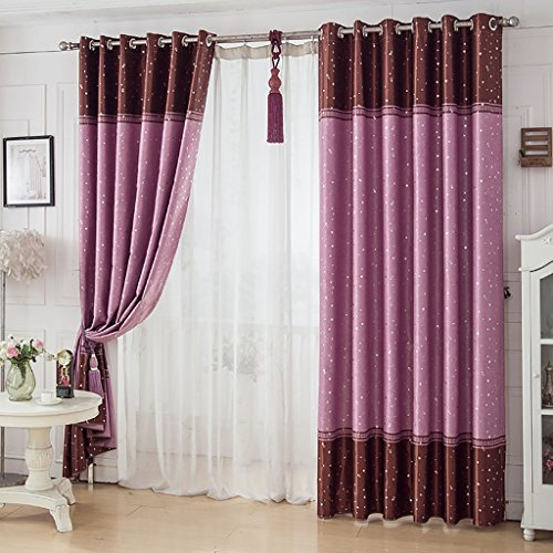 Used, QIANGDA Ring Top Curtains Bedroom Pencil Pleat Shading for sale  Delivered anywhere in USA