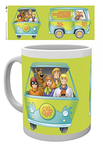 1art1 Set: Scooby Doo, Mystery Wagon Photo Coffee Mug (4x3 inches) and 1x Surprise - Scooby Doo Furniture