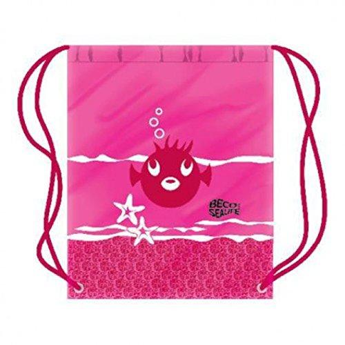 BECO Swim Tasche Schwimmbad Zubehör bedruckt Carry Sack 96067blau oder rosa je Rosa - rose