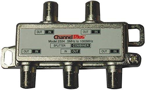 JAYBRAKE Channel Plus 2534 Splitters/Combiners 4-Way