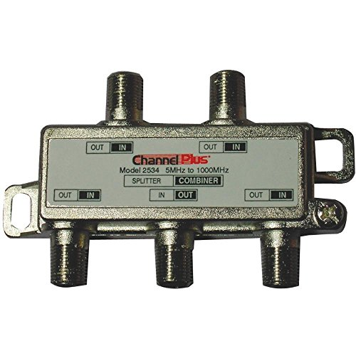 Channel Plus 2534 Splitters/combiners (1 Ghz Channel)