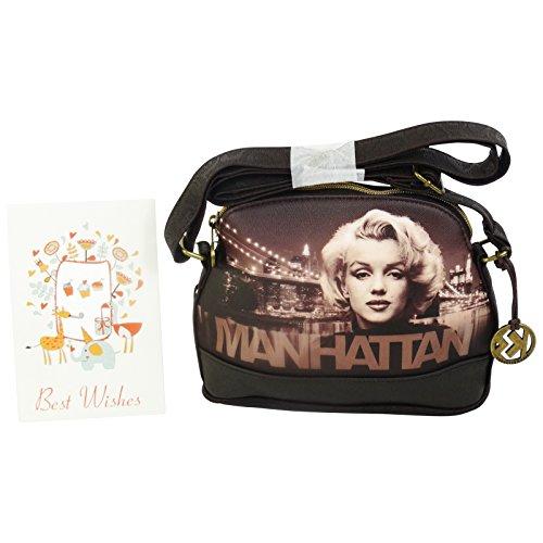 Marilyn Manhattan Borsa da Donna Ragazza a Tracolla a Spalla