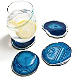 Amethya Natural Sliced Agate Coaster, Cup Mat for
