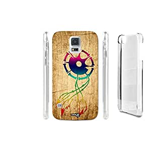 FUNDA CARCASA EFECTO MADERA CATCHER TRIBAL TWO PARA SAMSUNG GALAXY S5 ACTIVE SM-G870F