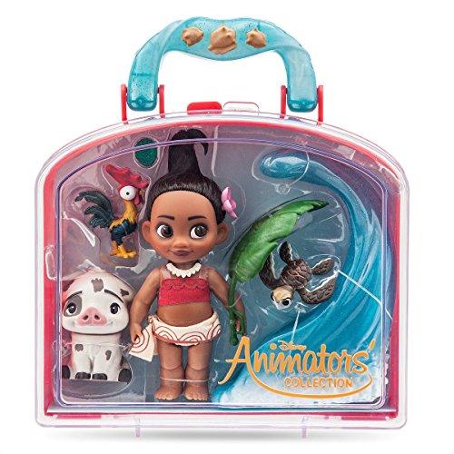 (Disney Animators' Collection Moana Mini Doll Play Set - 5 Inch)