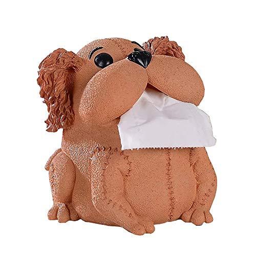 YSMYWM Resin Frog Paper Tissue Box Holder Case Holder Cover for ()
