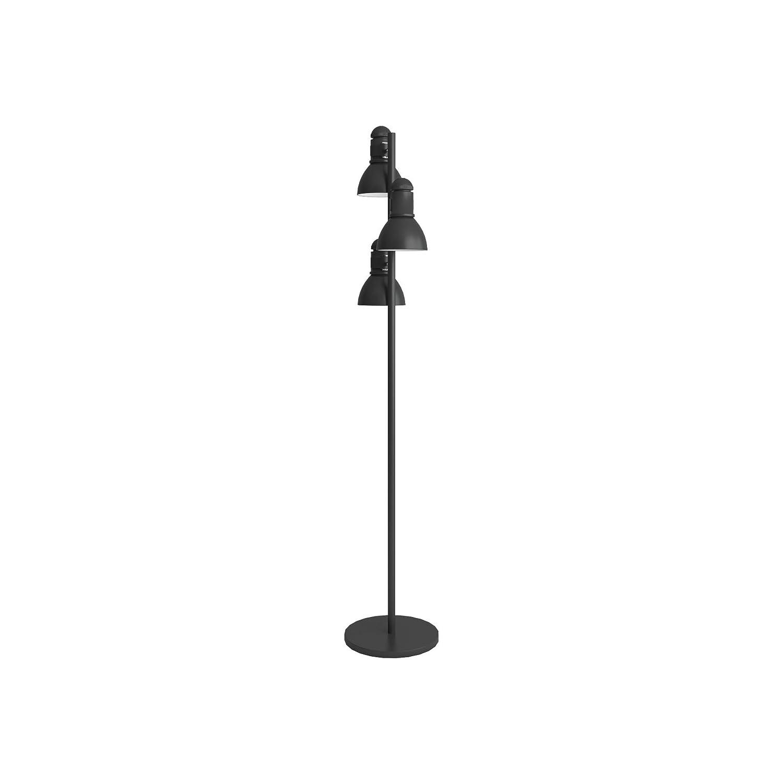 Boston Harbor TL-TREE-134-BK-3L 3 Light Tree Lamp, Black - Floor ...