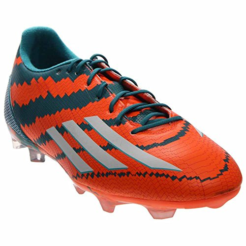 Scarpe Da Calcio Adidas Mens F30 Fg Messi Power Teal / Running White / Warning Orange