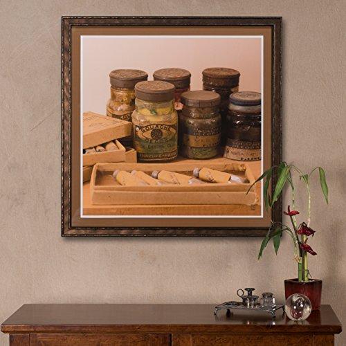 Sarreid 30237 Paint Jars Giclee Print by Sarreid