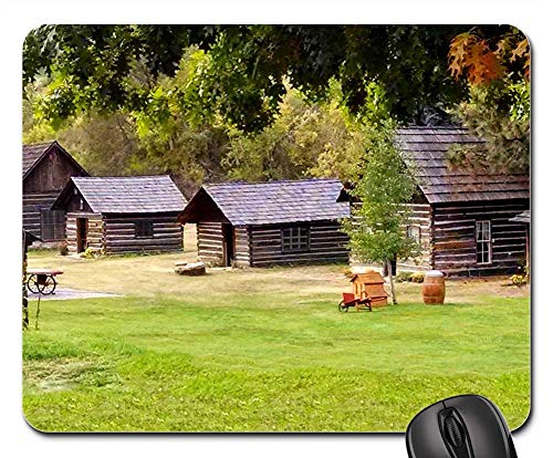 - Mouse Pads - Ghost Town Old West Western Cashmere Washington Old