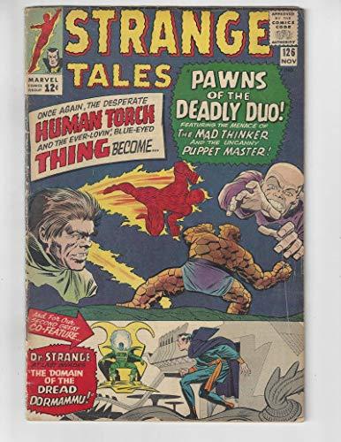 (Strange Tales #126/Silver Age Marvel Comic Book/1st Dormammu & Clea/VG+)