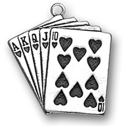 sterling-silver-girls-16-8mm-box-chain-good-luck-poker-hand-hearts-royal-flush-playing-cards-pendant