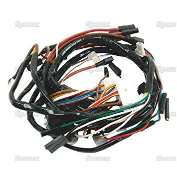51%2BGQOXKMsL._SY355_ amazon com ford tractor main wiring harness 12 volt c5nn14n104r 6.5 Diesel Wiring Harness at crackthecode.co