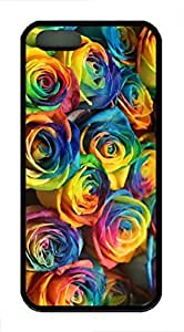 Color Of Roses - iPhone 5S Case Funny Lovely Best Cool Customize Black Cover by Maris's Diary