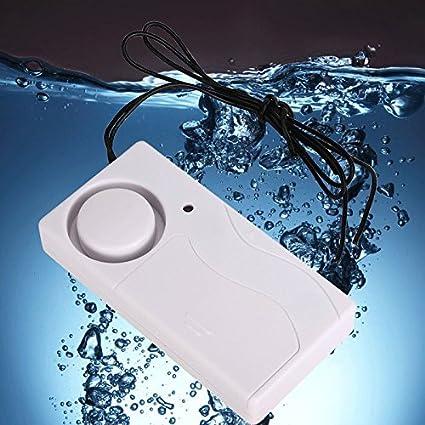 Generic Detector de fugas de agua Alarma Sensor de fuga de agua nivel completo con sonda