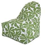 Majestic Home Goods Kick-It Chair, Plantation, Sage Review