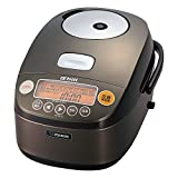 Zojirushi IH Pressure Rice cooker Iron coat Platinum Atsukama 5.5 Go Dark Brown NP-BE10-TD For Sale