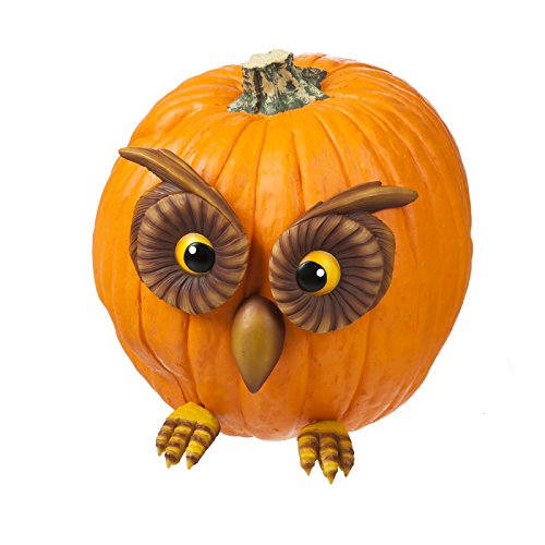 Owl Face and Feet Pumpkin Wear Decoration For Sale