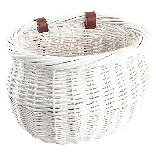 Sunlite Willow Bushel Strap-On Basket, 13 x 8 x 9