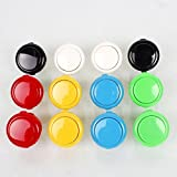 12 Piece Original Sanwa OBSF-30 30mm Push Buttons For Arcade Joystick Games Console