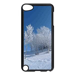 For HTC One M8 Phone Case Cover Nature Winter Snowy Field Hard Shell Back Black For HTC One M8 Phone Case Cover 306289