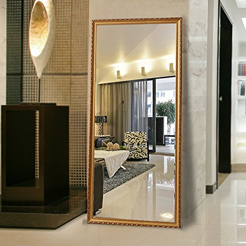 Alice solid wood frame full length floor mirror bedroom for Standing mirror for bedroom