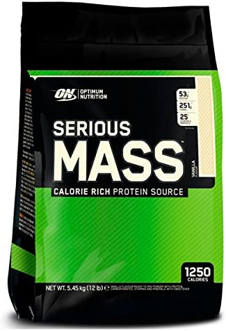 Optimum nutrition Serious Mass - 5,45 kg Cookies and Cream