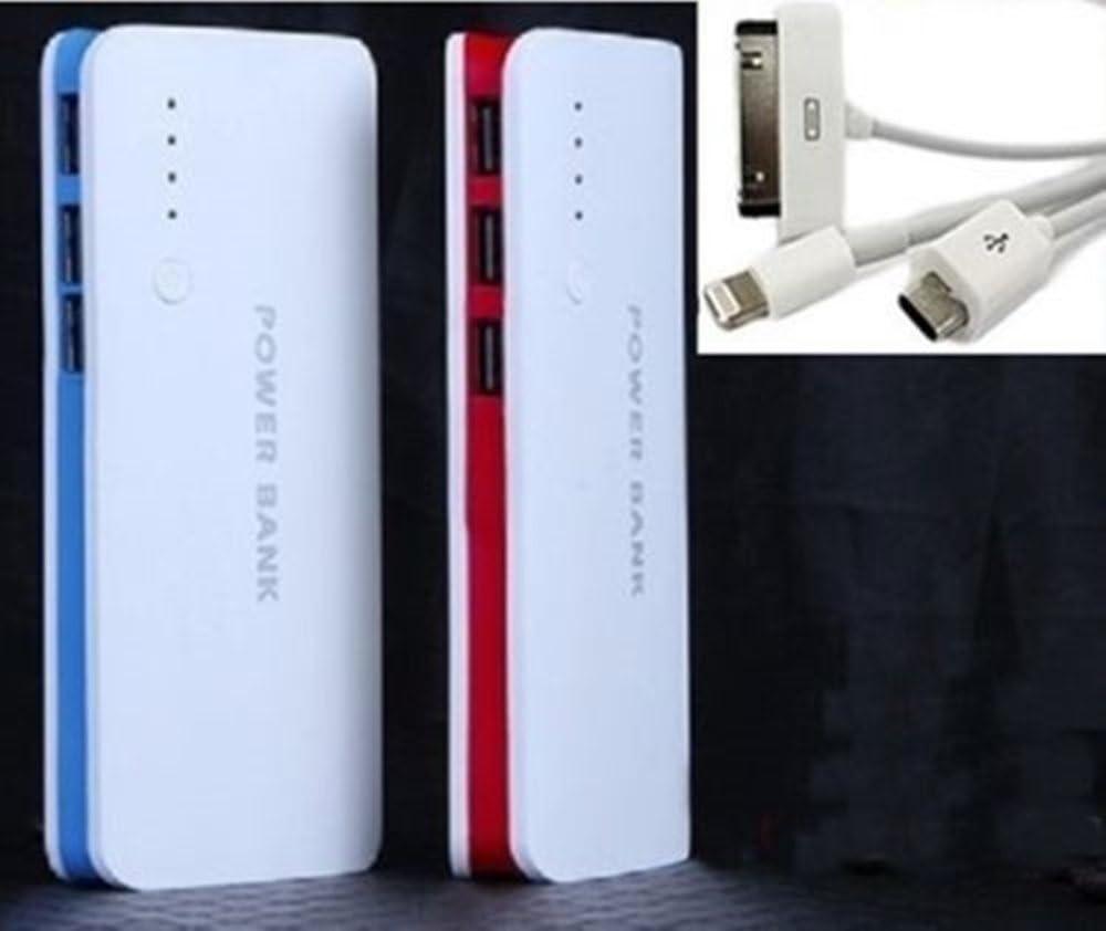 3USB 50000 mAh Power Bank Cargador de batería externa universal ...