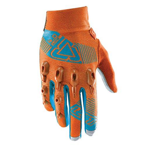 Leatt DBX 4.0 Lite Adult BMX Bike Gloves - Orange/Teal / X-Large by Leatt