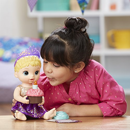 Other Toys Baby Alive Cupcake Birthday Baby Blonde Was