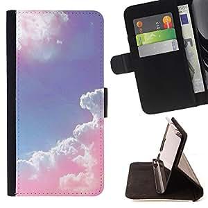 - Sunsine Fly Man sea - - Monedero PU titular de la tarjeta de cr?dito de cuero cubierta de la caja de la bolsa FOR Samsung Galaxy S5 Mini, SM-G800 Retro Candy