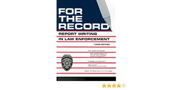 how to write a law report