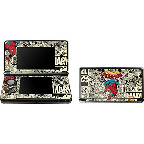 Skinit Amazing Spider-Man Comic Skin for 3DS (2011) - Officially Licensed Marvel/Disney Gaming Decal - Ultra Thin, Lightweight Vinyl Decal Protection (Amazing Spiderman 3ds Game)
