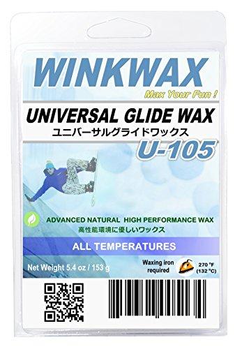 WINKWAX U-series Universal Ski Snowboard Glide Wax (U105 1 lb)