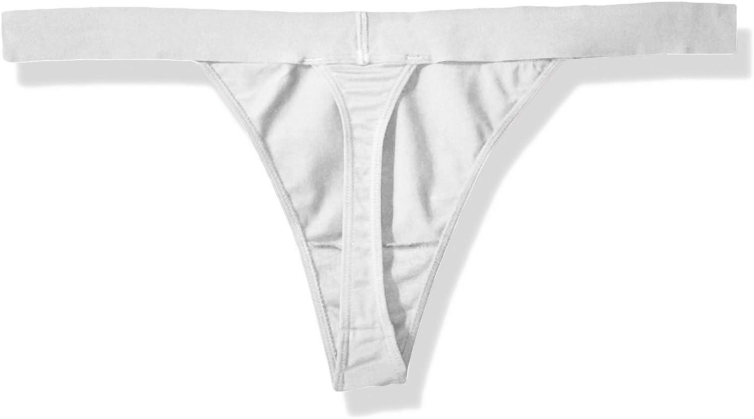 DKNY Damen Classic Cotton Thong Stringh/öschen
